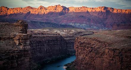 Portfolio: Le Colorado, le seul grand fleuve à ne plus se jeter dans la mer
