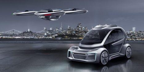 Pourquoi rouler quand on peut voler ? Audi et Airbus dévoilent leur vision de la voiture volante