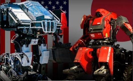Quand les États-Unis et le Japon s'affrontent dans un duel de robots géants