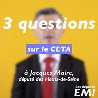 Qu'est-ce que le CETA – Jacques Maire