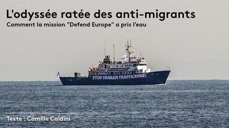 RECIT. Comment la croisade des militants anti-migrants du « C-Star » a tourné au naufrage