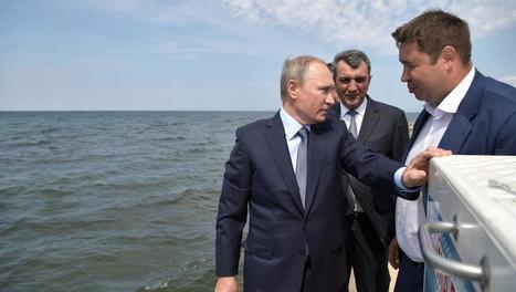 Russie: Vladimir Poutine s'inquiète de la pollution du lac Baïkal