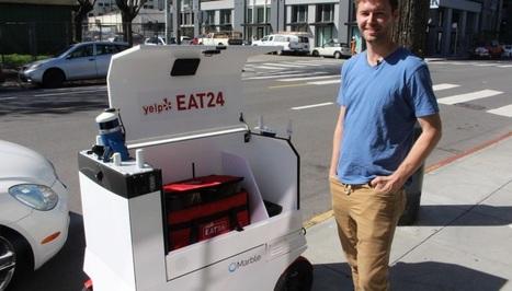 San Francisco, pionnière des robots autonomes livreurs de repas