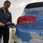Sciences et Avenir a testé le taxi à hydrogène
