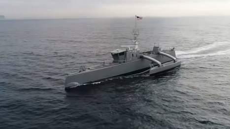 «Sea Hunter», le premier navire autonome de l'US Navy, sera bientôt prêt à passer jusqu'à 90 jours seul en mer