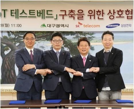 SK Telecom et Samsung s'associent pour créer la première Smart City de Corée du Sud
