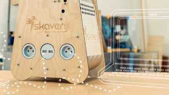 Skavenji : la box qui vous permet de produire votre énergie renouvelable chez vous comme un potager sur le balcon