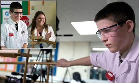 Super Jamie : à 13 ans il fabrique un réacteur de fusion nucléaire!