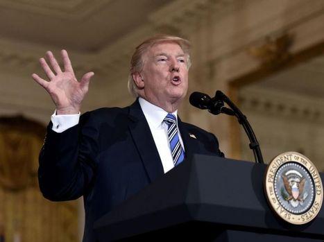 Trump met un coup d'arrêt au plan climat d'Obama