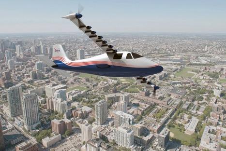 Un avion équipé de 14 moteurs électriques : le transport aérien zéro carbone selon la NASA
