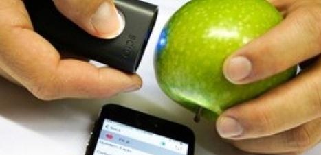 Un détecteur portable de pesticides sur les fruits et légumes