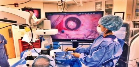 Un système de visualisation en 3D pour faciliter la chirurgie de l'oeil