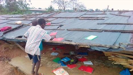 Une école du sud-ouest de la Côte d'Ivoire s'effondre… la faute au prix du cacao ?