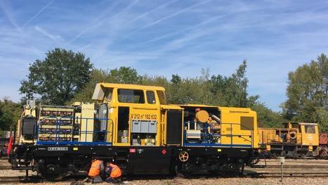 Une locomotive hybride diesel sur batteries développée à Quimper