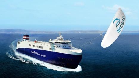 Une start-up toulousaine invente une voile pour «tirer» les navires