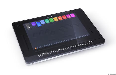 [Vidéo] Insidevision a créé la première tablette tactile braille