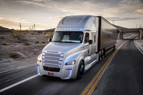 VIDEO : le camion autonome Mercedes sur les routes du Nevada…juste époustouflant!