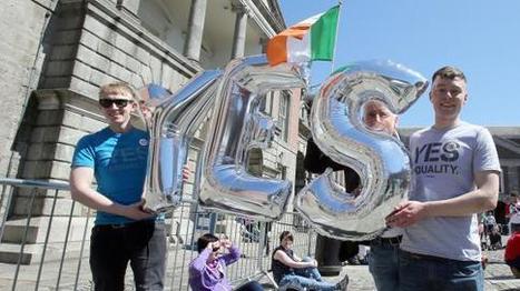 VIDEO. Mariage homosexuel : «Un grand jour pour l'Irlande !»