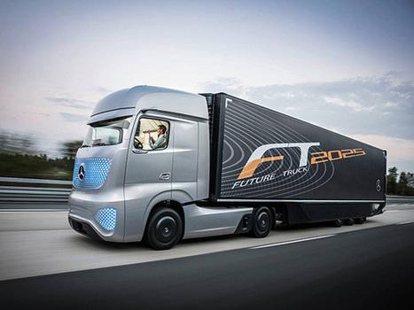 Voici ce à quoi pourrait ressembler le camion du futur