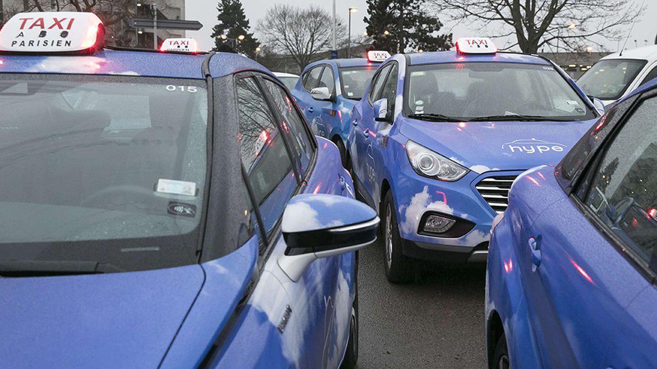 Bientôt 600 taxis à hydrogène à Paris
