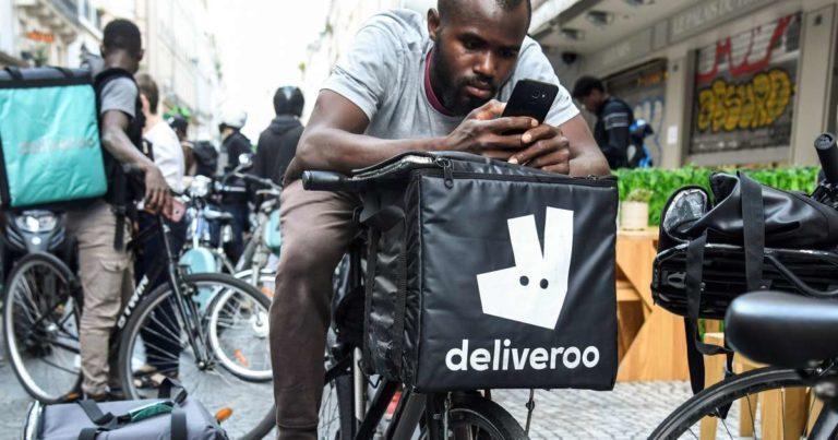 «Deuxeuros pour livrer une pizza, non merci!»: les coursiers Deliveroo remontés contre les nouveaux tarifs