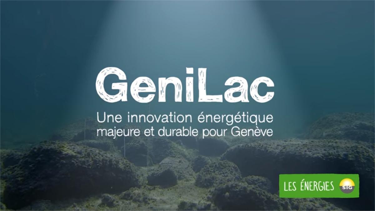 GeniLac, une innovation énergétique majeure et durable pour Genève  – Genie.ch, le Réseau de l'écologie industrielle dans le canton de Genève