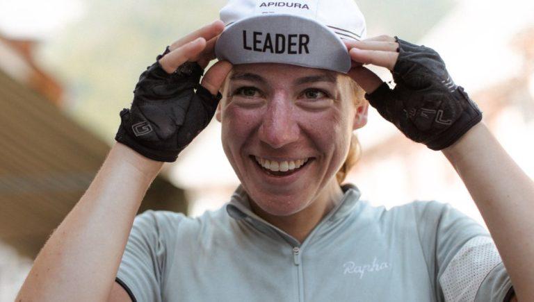 La cycliste Fiona Kolbinger termine première de la Transcontinental Race