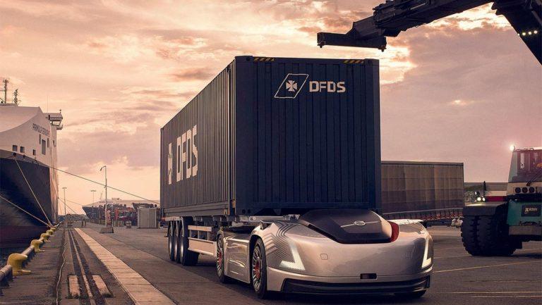 Le «camion» autonome et électrique Vera de Volvo Trucks va être testé en Suède