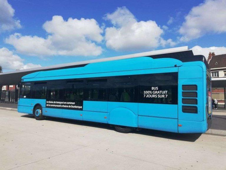 À Dunkerque, l'incroyable succès des transports publics gratuits