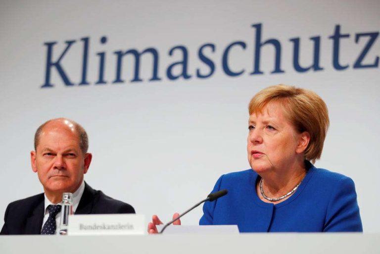 Allemagne. Angela Merkel présente un plan à 54 milliards d'euros pour le climat