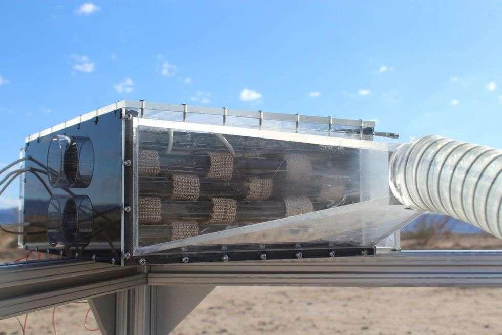 Des chimistes ont élaboré un système révolutionnaire pour recueillir de l'eau dans le désert