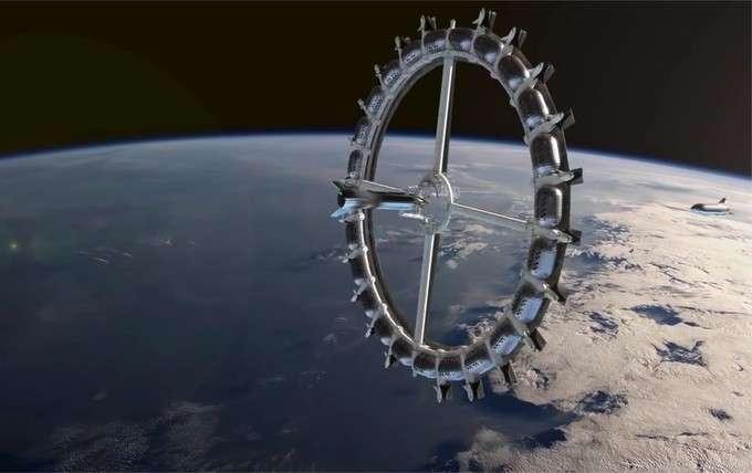 Dès 2025, on pourra (peut-être) dormir dans cet hôtel de l'espace
