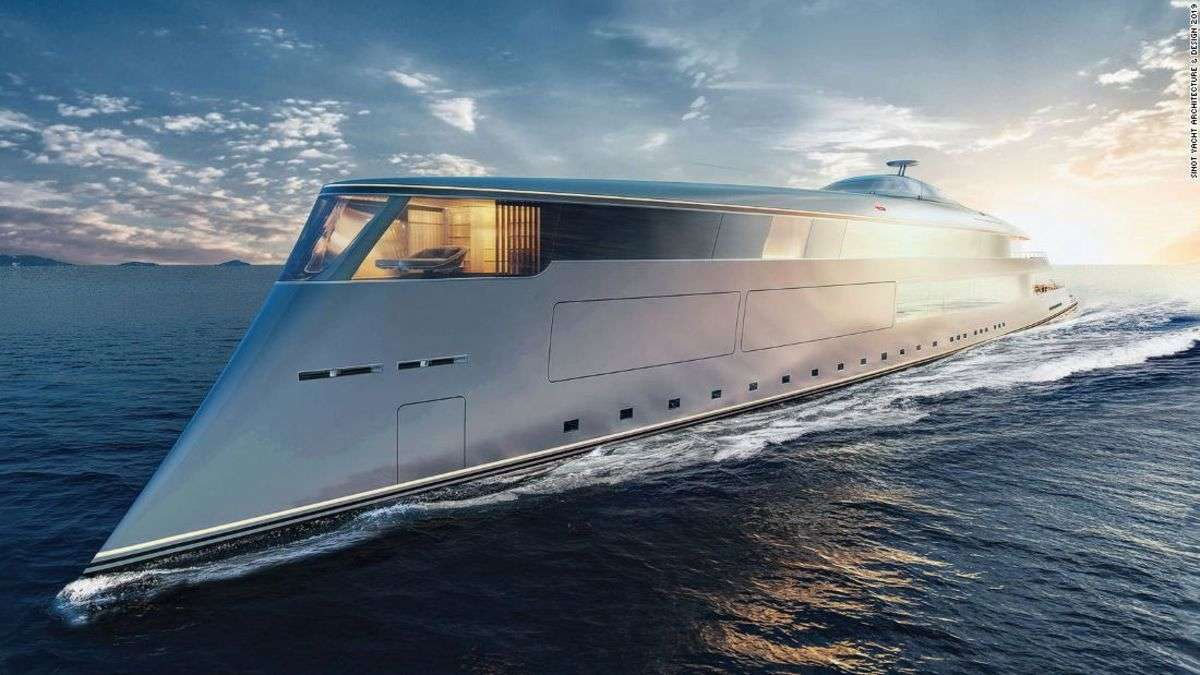 Is this hydrogen-powered vessel the superyacht of the future?
