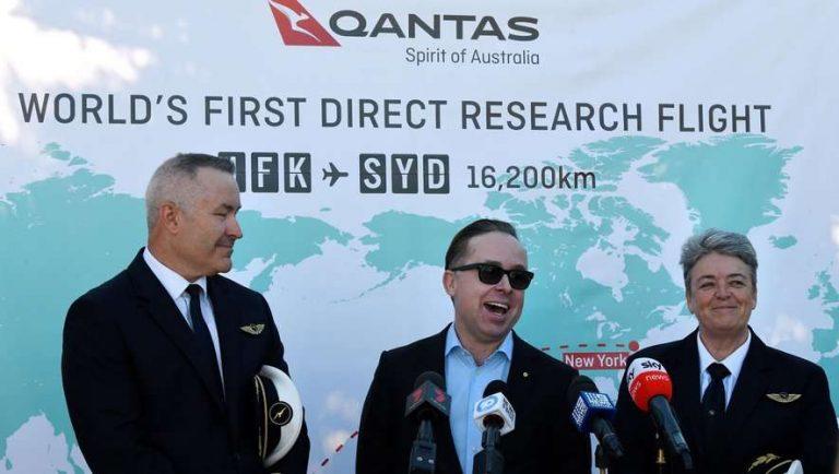 Le plus long vol sans escale de l'histoire a atterri ce dimanche à Sydney