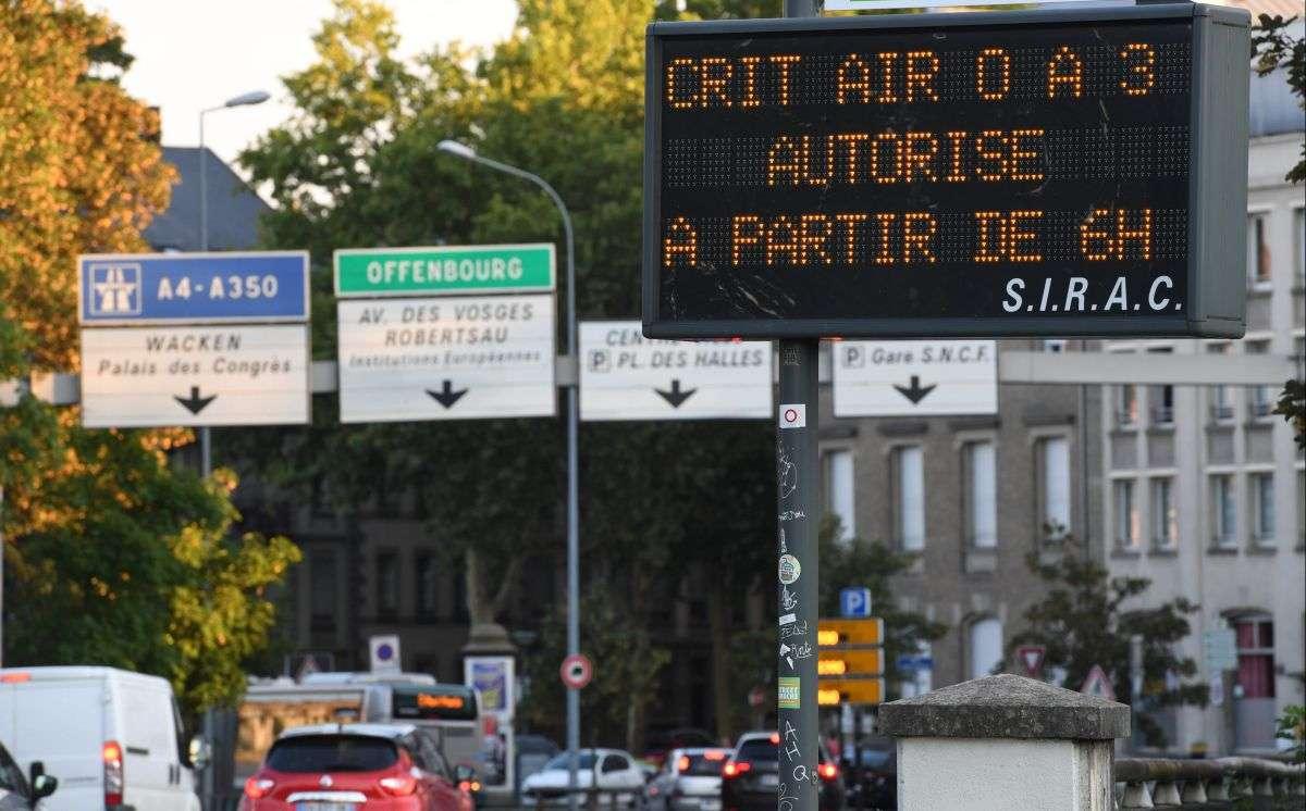 Pollution : pour 2025, Strasbourg veut interdire la circulation des véhicules diesel (et de certains essence)