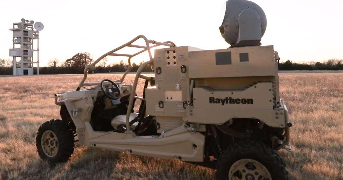 Raytheon fournit à l'US Air Force sa première arme laser anti-drones