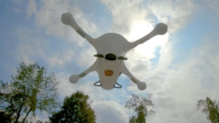 UPS autorisé à déployer son projet de livraison par drone à grande échelle !