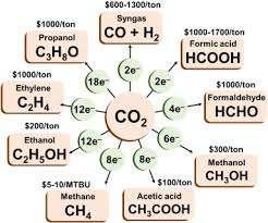 « Valorisation du CO2 » dans l'ensemble du site