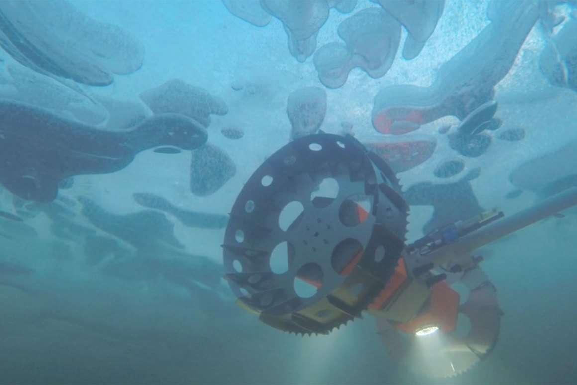 Ce robot pourrait un jour explorer les océans extraterrestres