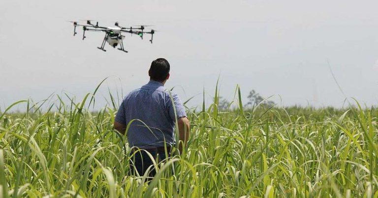 France : des drones autorisés à épandre au-dessus de nos cultures