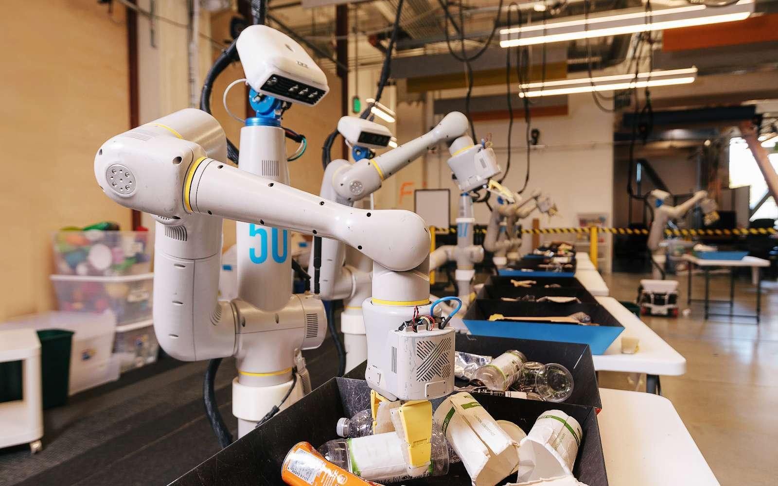 Google va lancer un robot qui triera nos déchets