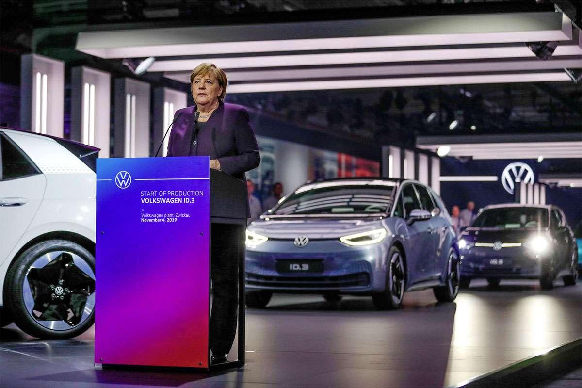 L'Allemagne lance un plan Marshall pour la voiture électrique
