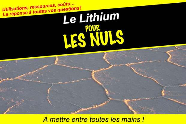 Le Lithium pour les nuls – Lithium et batteries des voitures électriques