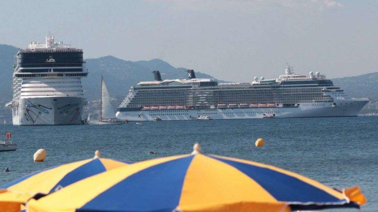 Les paquebots de croisière sous contrôle anti-pollution à Cannes
