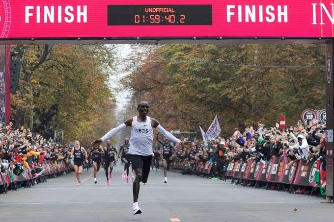 Marathon en moins de 2 heures : un cas de dopage technologique ?