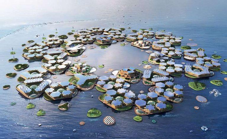 Oceanix, une ville flottante contre la montée des eaux – Divercity