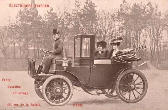 «Automobile» dans «Évolution des transports»