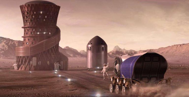 Elon Musk évoque la construction de la première ville sur Mars !