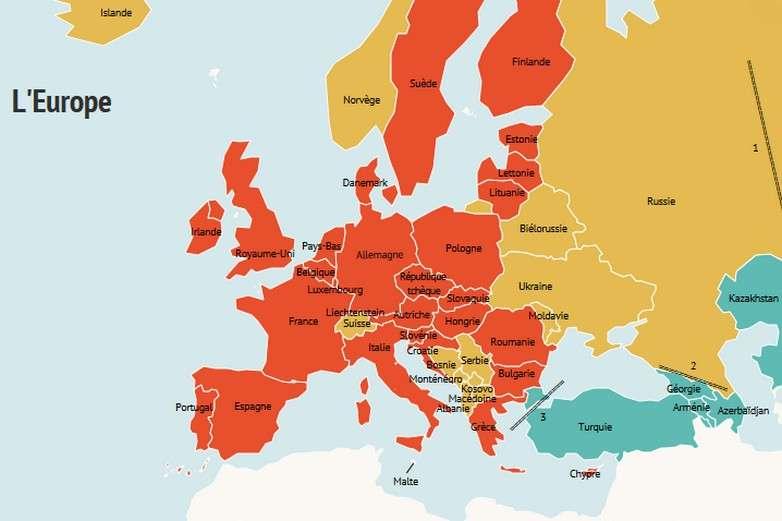 Europe, UE, Schengen, zone euro : quelles différences ?