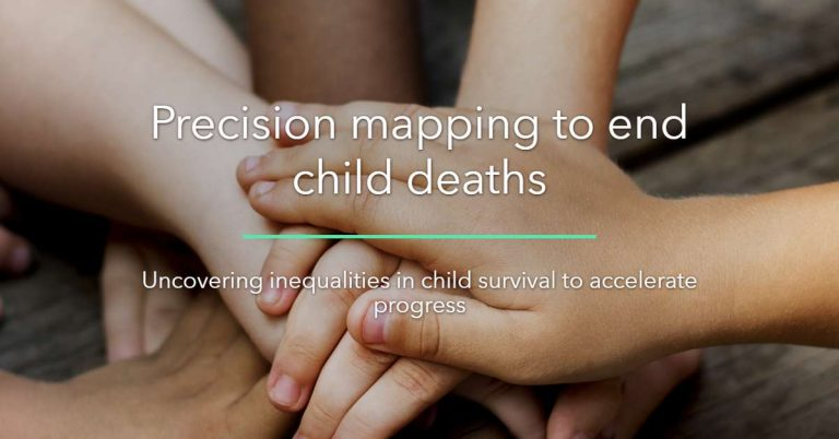 How can precision mapping save children's lives?